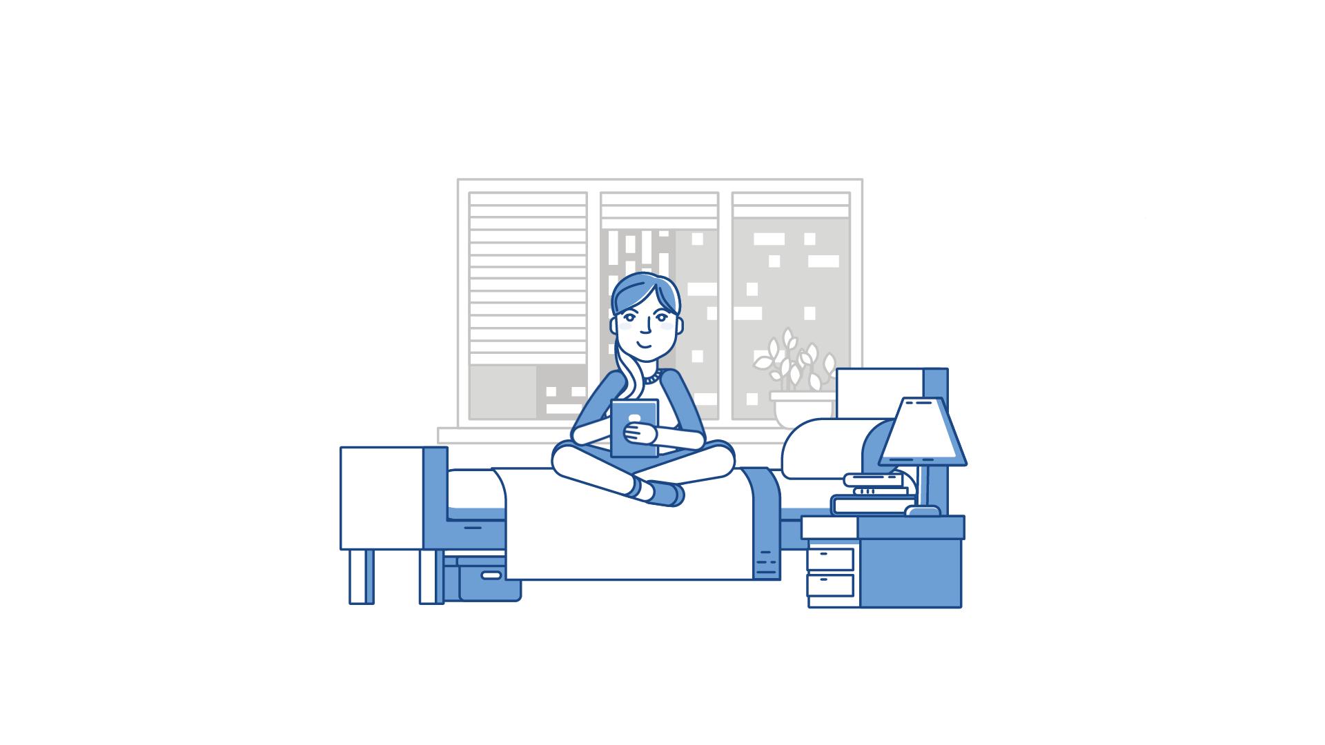 Mist Visual - Studio Animacji. Dziesiąte ilustracja do animacji NASK DNSSEC Video Explainer