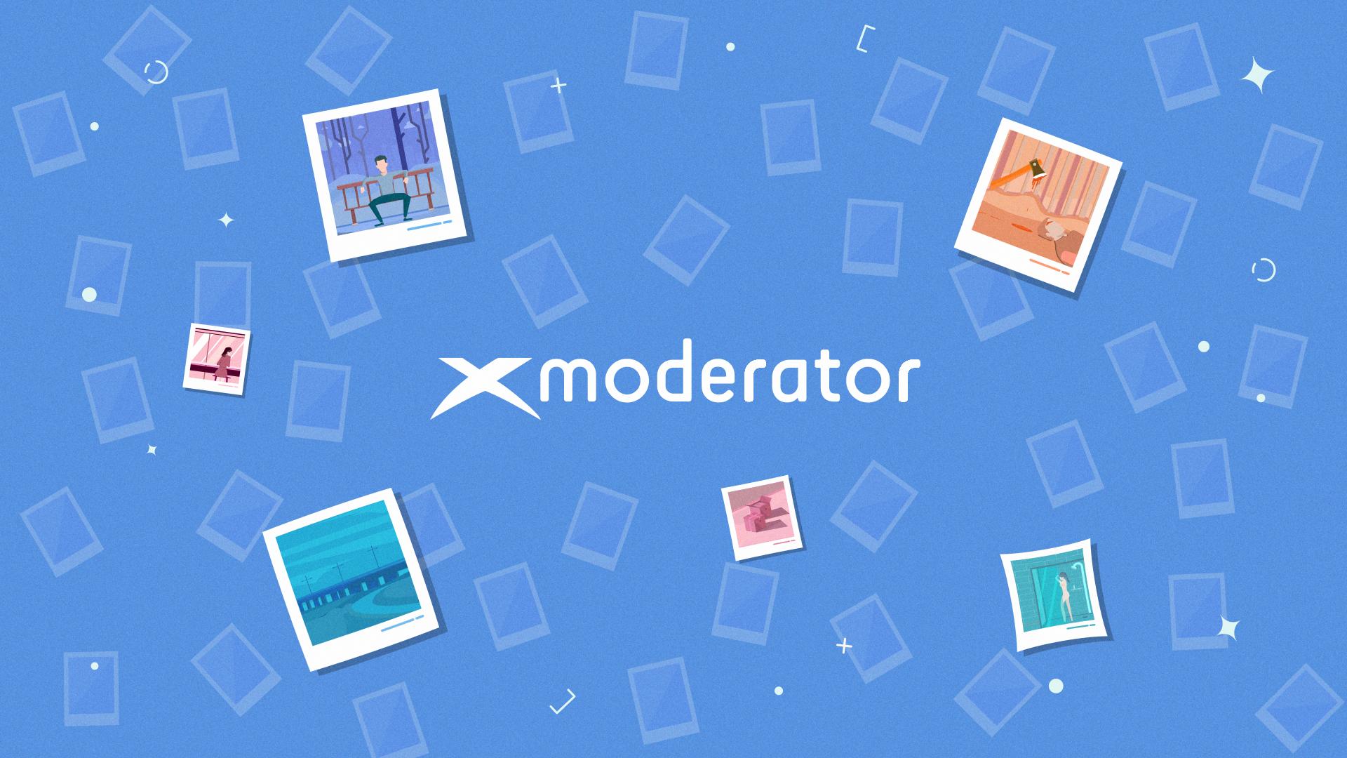 xModerator Video Explainer - Animacja Logotypu