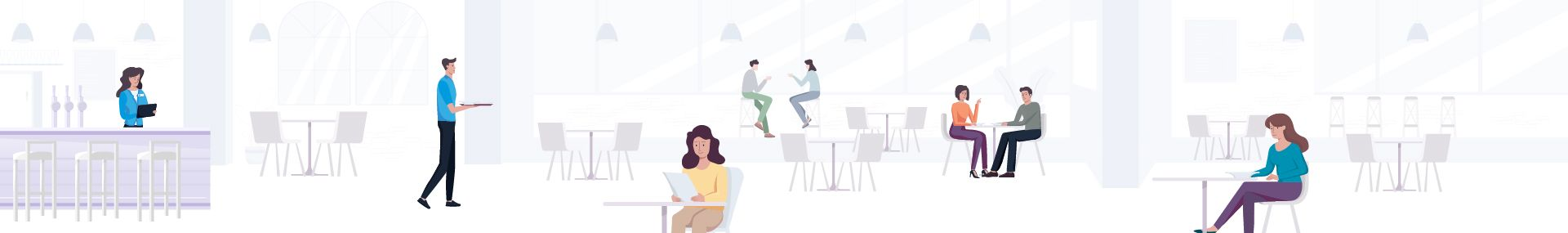 Scena do animacji UpMenu Explainer Video